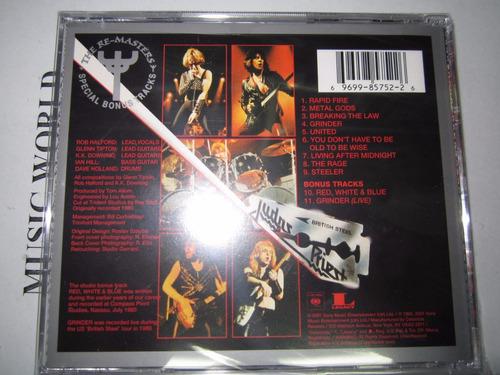 judas priest -british steel cd-[+bonus-remaster]u.s.a