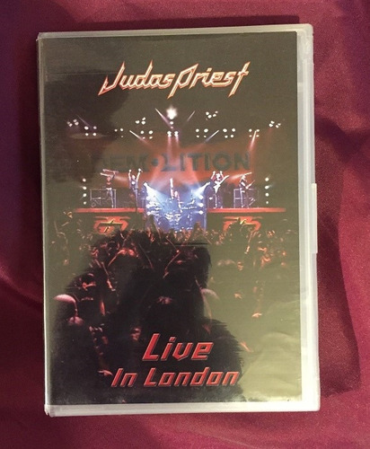 judas priest - live in london - dvd original