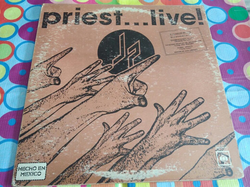 judas priest lp live 1987  r