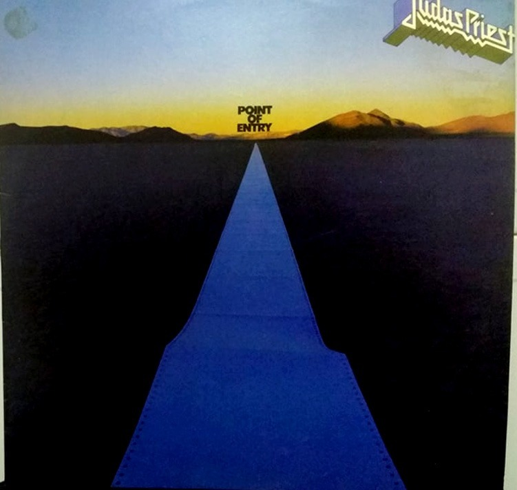 judas priest lp point of entry nacional heavy metal r 80 00 em