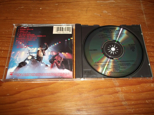 judas priest - unleashed in the east cd imp ed 1989 mdisk