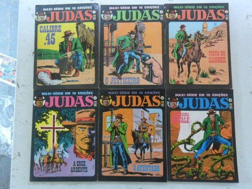 judas! vários! editora record 1989! r$ 15,00 cada!