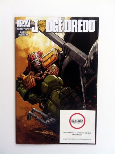 judge dredd pack do #1 ao 6 arco completo (2013) nova série