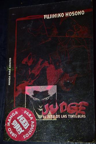 judge, el juez de las tinieblas (libro manga para adultos)