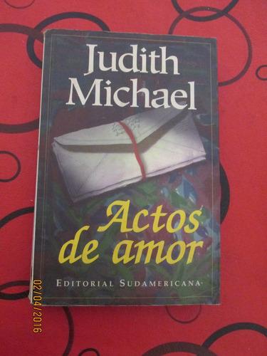 judith michael  -  actos de amor