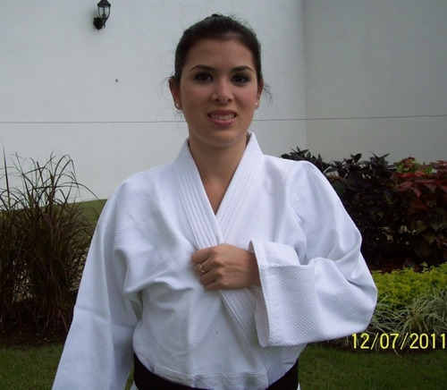 judo uniforme importado rhingo blanco-tejido de arroz judo
