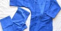 judogi budokan azul bjj jiu jitsu 550 grs 180 grs