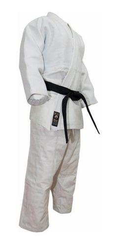 judogi pesado shiai traje blanco uniforme judo talles 0 a 3