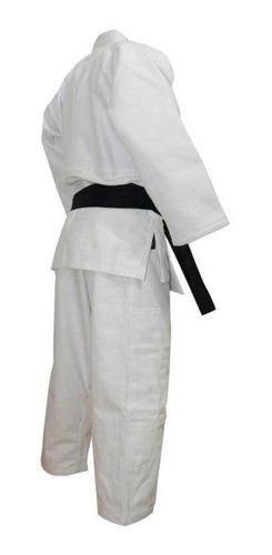 judogi pesado shiai traje blanco uniforme judo talles 4 a 8