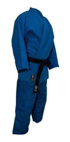judogi shiai traje tramado mediano azul 0 a 3 uniforme judo