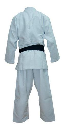 judogi shiai tramado mediano blanco talles 4-8 uniforme judo