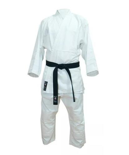 judogi traje judo uniforme azul blanco shiai talle 000 a 4