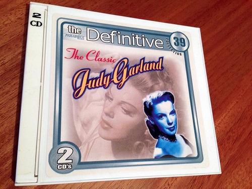 judy garland cd the classic duplo 53 sucessos raro original!