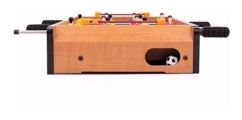 juedeo de mesa taca taca de madera portatil envio gratis