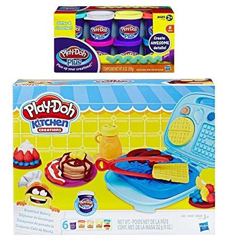 Juega doh cocina creaci n desayuno panader a play doh - Cocina play doh ...