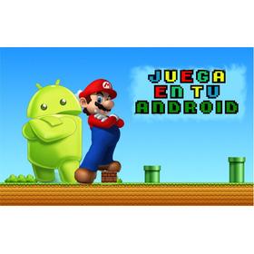 Juega Mario Bros En Tu Celular Android + 25 Juegos De Regalo