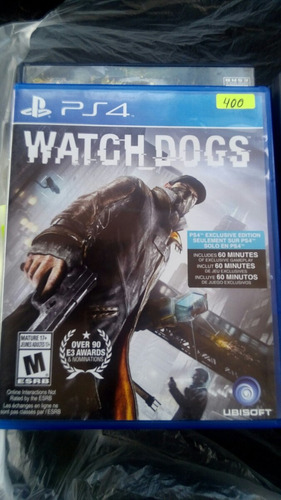 juegl watch dogs ps4