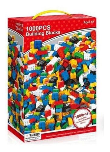 juego 1000 bloques ladrillos de encastre calidad - el rey