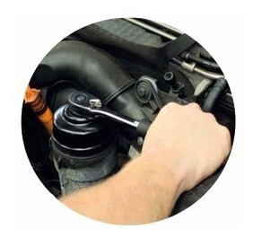 juego 14 llaves tipo copa para extraer filtros de aceite