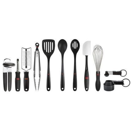 juego 17 piezas utensilios cocina nylon oxo
