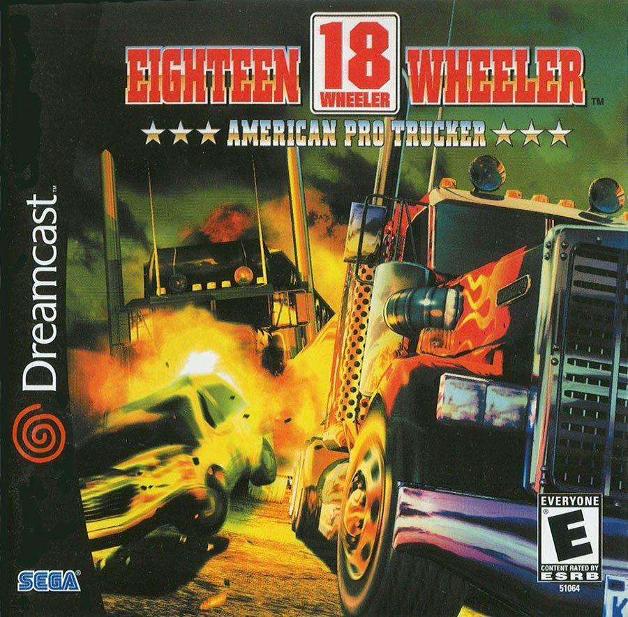 Juego 18 Wheeler Sega Dreamcast Palermo Z Norte 883 19 En
