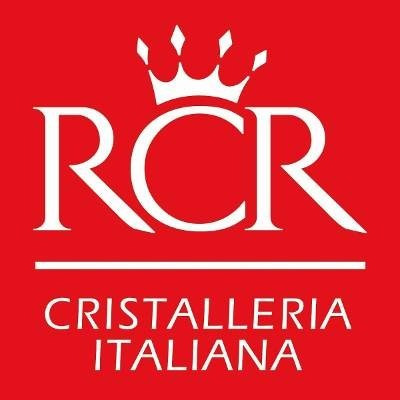 juego 2 copas de cristal cortado italianas opera rcr