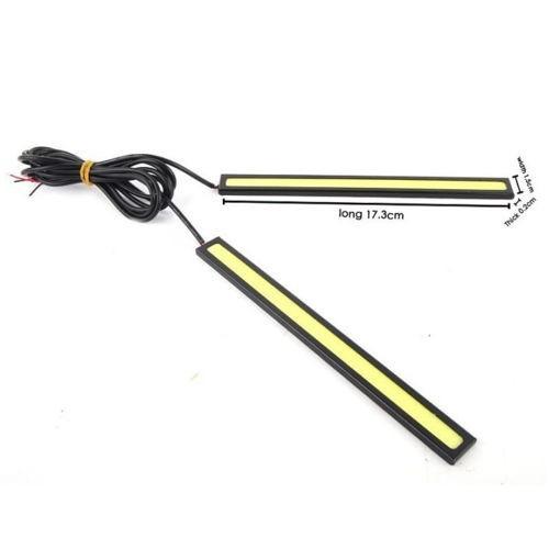 juego 2 luces led conducción diurna 17 cms