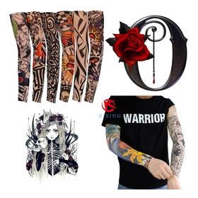 Juego 3 Par De Manga Tatuaje Tattoo Rock Motorizado Dj K6