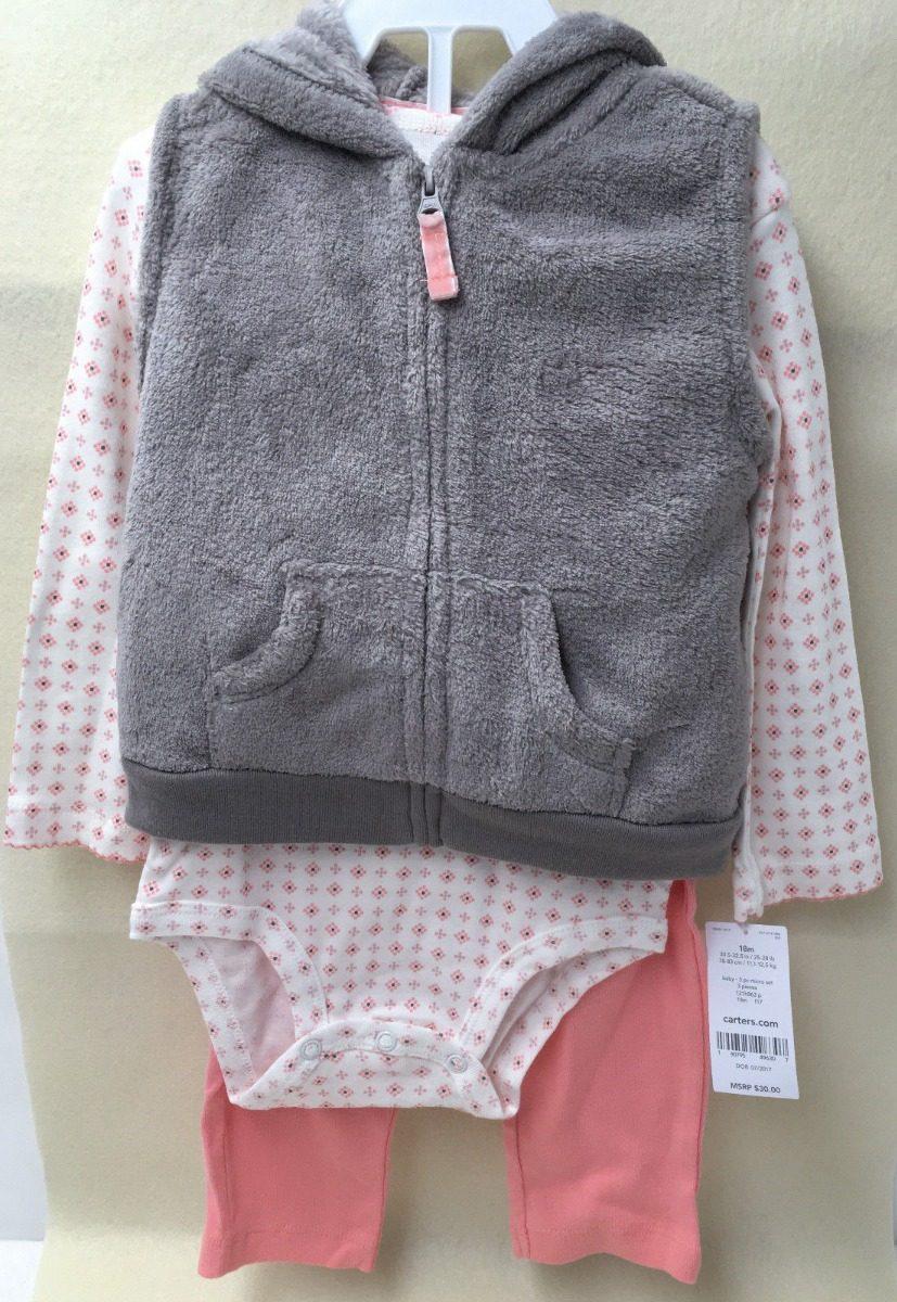 0dc49a6b8d13f juego 3 piezas bebé niña- chaleco traje corporal pantalones. Cargando zoom.