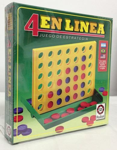 juego 4 en linea grande original ruibal planeta juguete