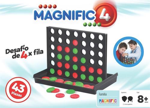 juego 4 en linea juego de mesa magnific original