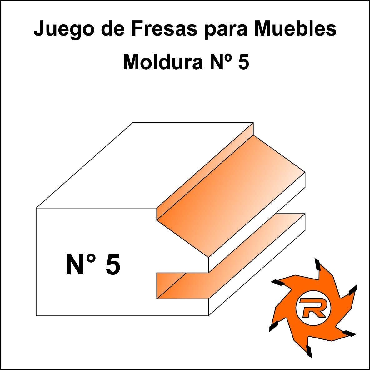 Juego 4 Fresas Muebles 25 Mm Tupi Widia Madera 6 Cuotas 6 305  # Muebles Para Cocina Tupi