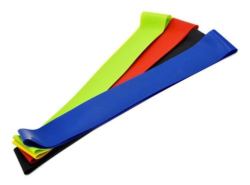 juego 5 bandas elásticas estuche incluido libro ejercicios