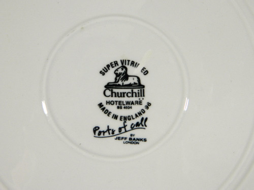 juego 6 platos hondos loza inglesa churchill by jeff bank
