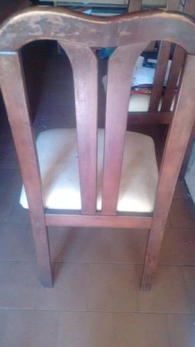 juego 6 sillas