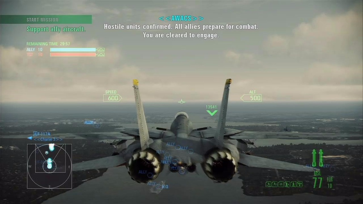 Juego Ace Combat Assault Horizon Enhanced Edition - Pc Steam