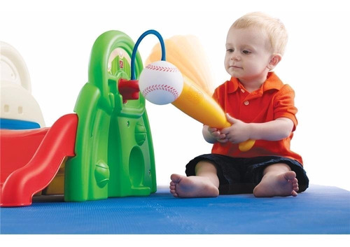 juego actividades niños resbaladilla pelota sport step2 hm4
