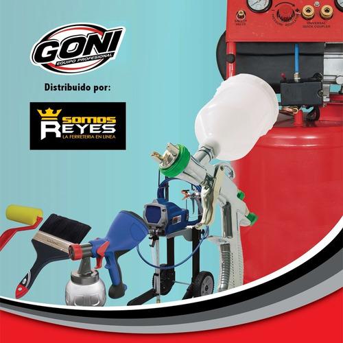 juego aerografo de succión con accesorios mod315 goni