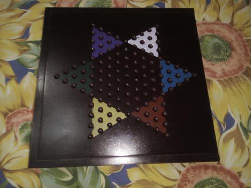 juego ajedrez damas backgamon estuche madera