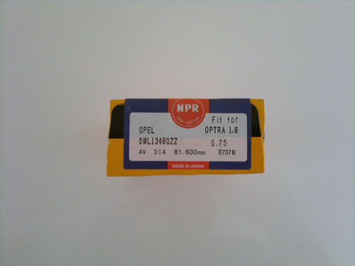 juego anillos optra limited 1.8 075=030 (92067241)