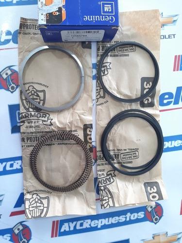 juego anillos trailblazer 4.2l 6cil std 02-04 fino-fino gm