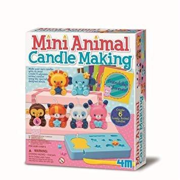 juego animal candle making 4m collagekidsar