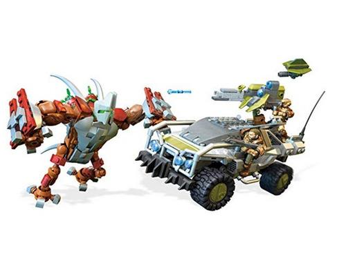 juego armar mega construx halo forge warthog