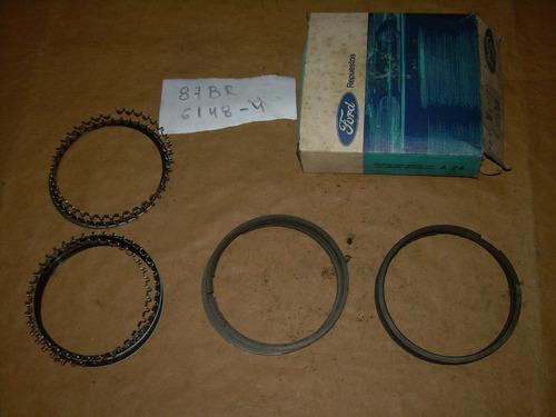 juego aros piston medida std ford sierra taunus 2.3l 84/92
