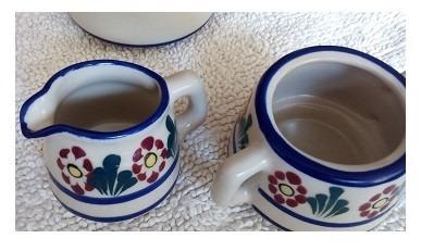 juego artesanal para café o te
