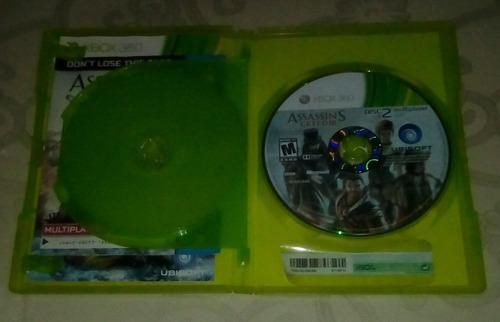 juego assasin creed 3 xbox 360 (2 cds) original