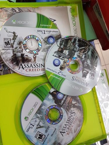 juego assassins creed xbox 360