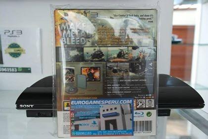 juego assault horizon edición especial, para play 3 o ps3.