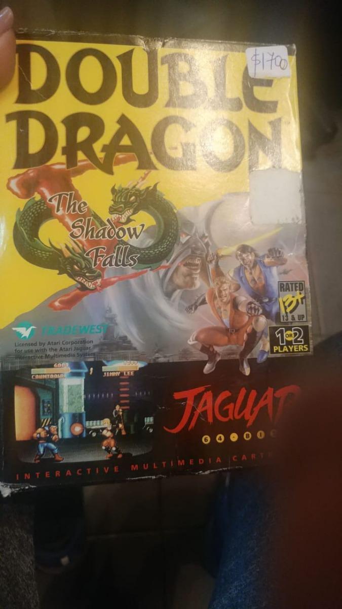 Juego Atari Jaguar Double Dragon Consolasdejuegos 6 499 00 En