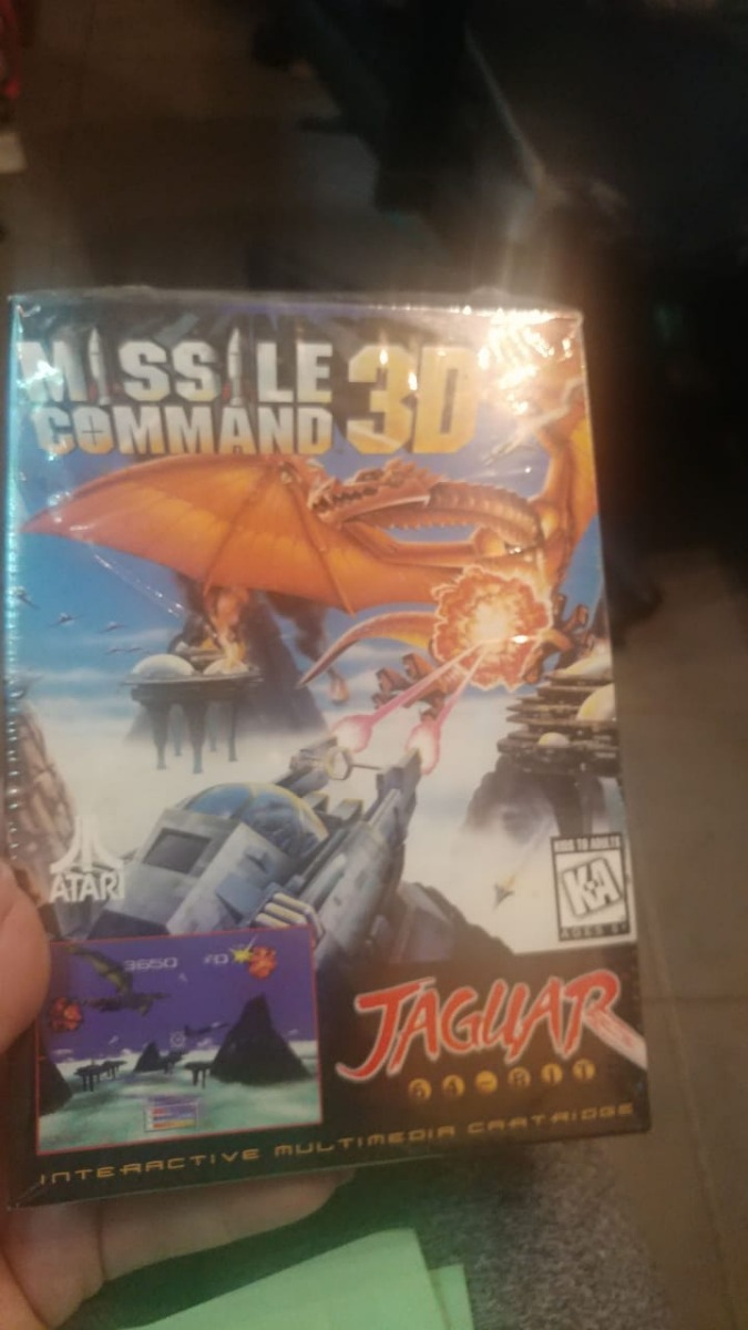 Juego Atari Jaguar Missile Comand 3d Consolasdejuegos 6 499 00